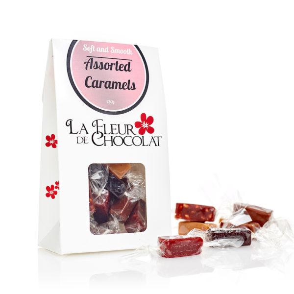 Assorted Caramels - La Fleur De Chocolat