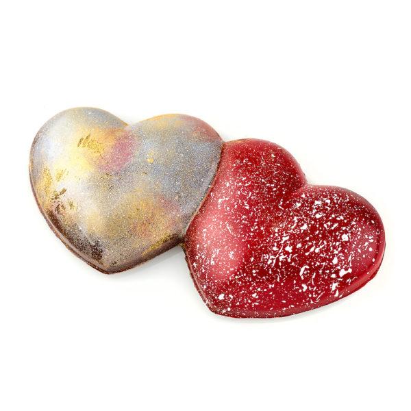 Salted Caramel and Kalamansi Ganache Twin Heart