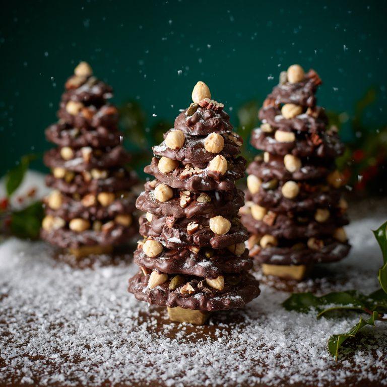 Fruit and Nut Christmas tree