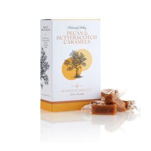 Pecan and Butterscotch Caramels